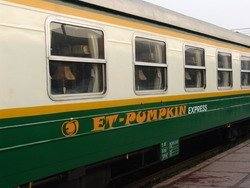 Et Pumpkin Train Sapa Vietnam ticket