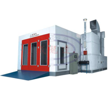 WLD9300 (Luxury Type) Water Based auto spray booth with italy riello burner
