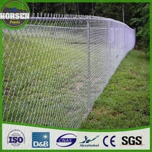 wholesale cheap 6 foot galvanized metal used chain link fence for sale