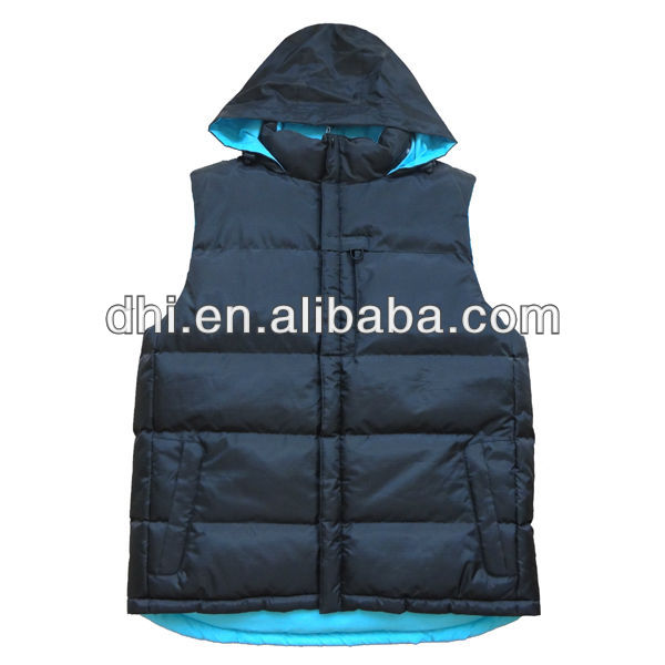 Winter waterproof padding women vest