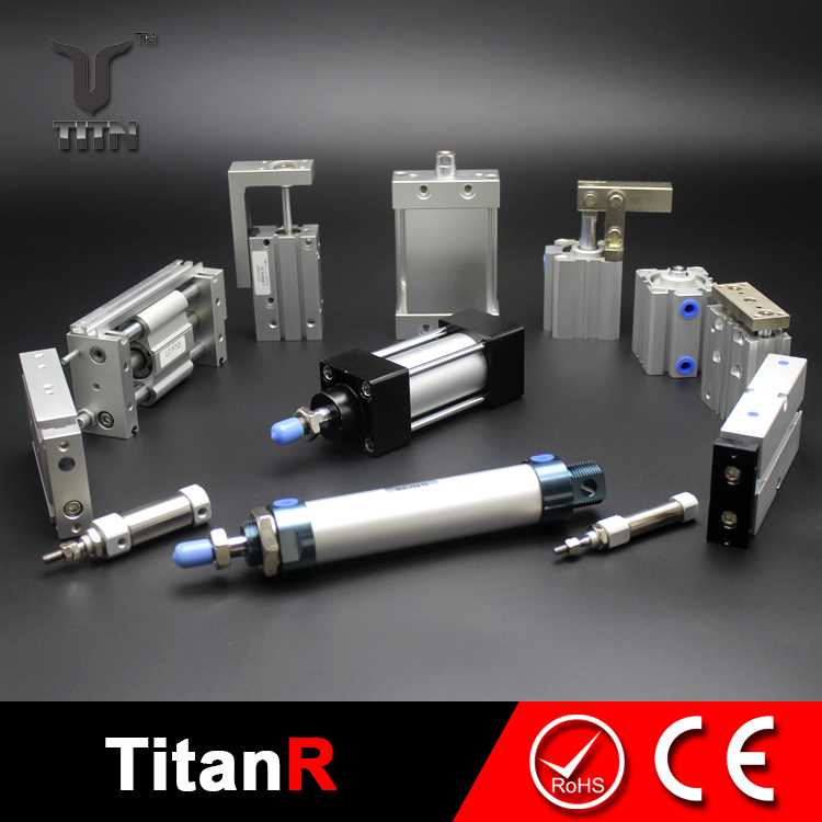 Pneumatic rotary tabl cylinder