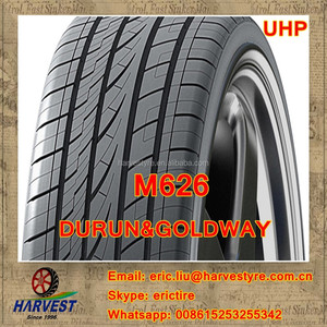 High Quality Durun Goldway Brand 275/25ZR30 275/25ZR28 275/25ZR26 UHP tire, M626pattern Available