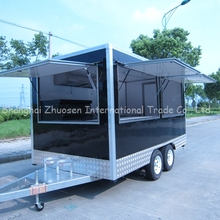 2015 Hot Sale China Mobile Food Kiosk Catering Trailer Good Quality ZS-VT390 A