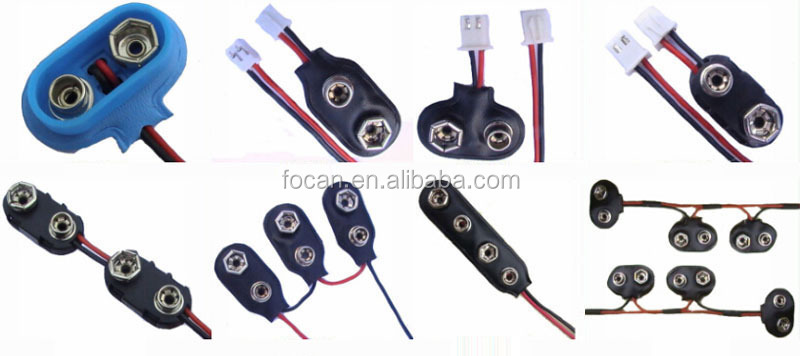 "Battery Holder 2 x C With 6"" 24AWG Wire Leads"