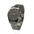 Latest wastern style fashion mens stainless steel japan movement watch