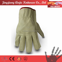 A&J durable modeling waterproof leather cold resistant work gloves
