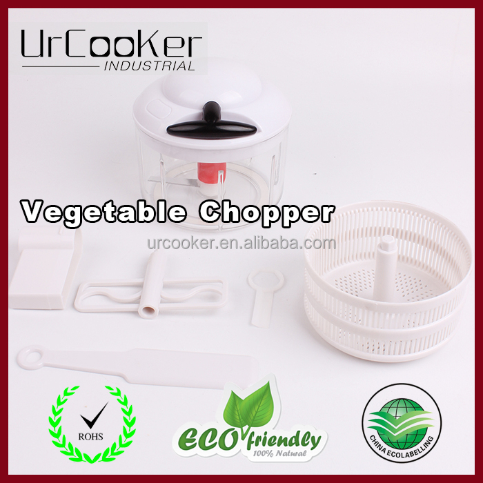 Wholesale Stock Plastic Multifunction Handy Vegetable Chopper