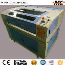 Portable MC6040 9060 4030 mm high quality embroidery / leather / fabric co2 laser cutting engraving machine price