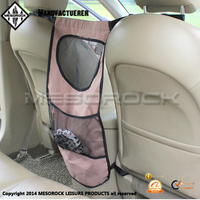 New design auto travel dog back seat barrier breathable pet barrier