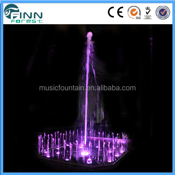 pond fountain round indoor glass water fountain