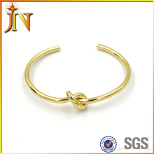 SZ0053 JN wholesale gold plated simply design knot bangle bracelets ladies fancy bangles 1 gram gold bangles