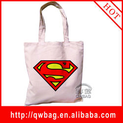 superman bag decorated canvas tote bags