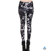 All over sublimation printed leggings for women
