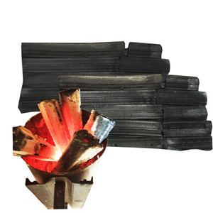 Odorless Sparkless Eco Friendly Non-toxic Long Burning Sawdust Charcoal