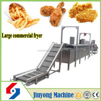 2016 hot selling multi-function stainless steel deep frying machine