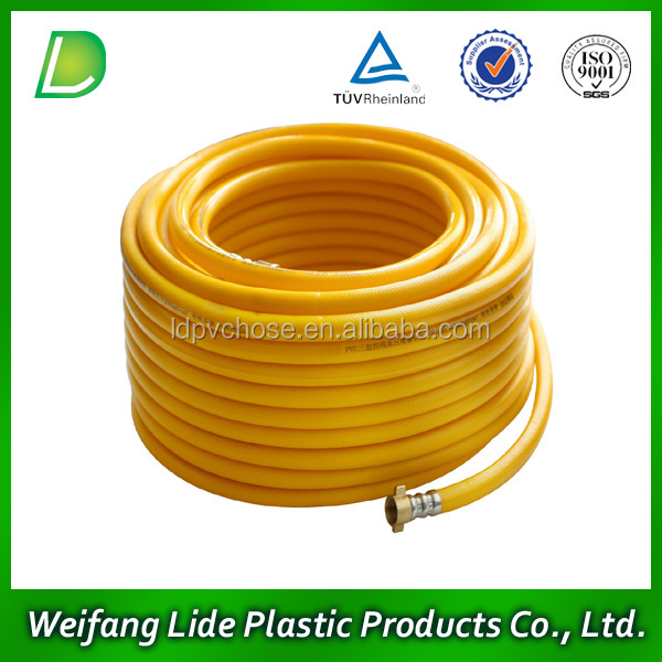 PVC Flexible Reinforced Rubber Kitchen LPG Gas Air Pipe Hose