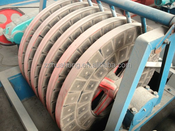 HUAHONG ISO quality approved energy saving disc tailings recovery machine