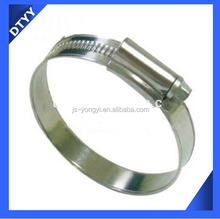 Factory supply car washing hose with stainless steel british type hose clamp