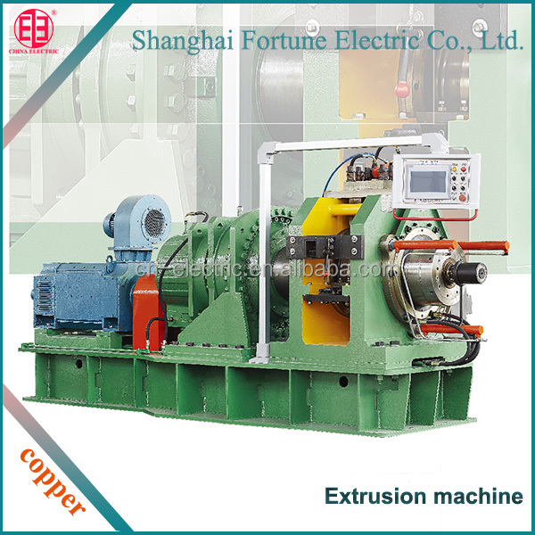 continuous copper wire copper tube extrusion press