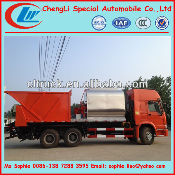 HOWO Asphalt spreader,Asphalt Gravel Chip Sealer