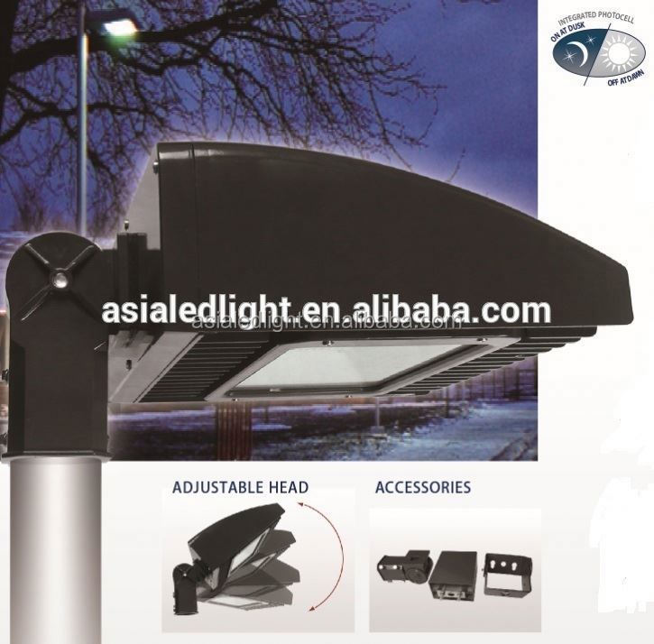 led parking lot lighting retrofit UL led street light foot lamp/oudoor lamps