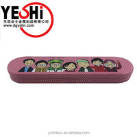 Classic Picture Printing Fashionable Metal Pencil Tin Box, Cases