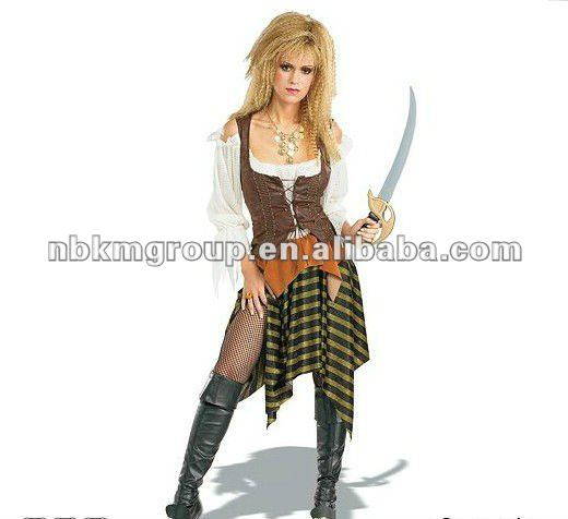 Adult Women's Pirate Costume/Sexy Costume