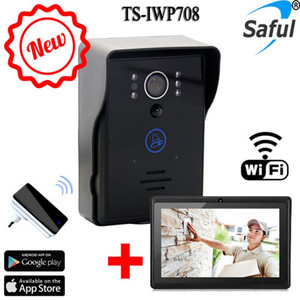 2015 new android/ios app wireless ip based video intercom with function of code and remote control unlocking
