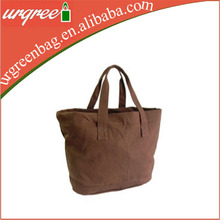 Natural thick canvas tote bag