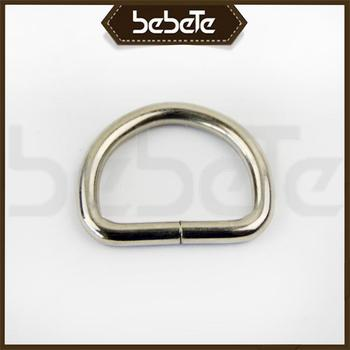 Hot Selling D Ring Metal Buckles Zippers For Pants