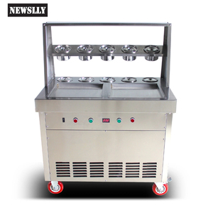 New products fried ice cream roll machine fried ice machine fried ice cream maker