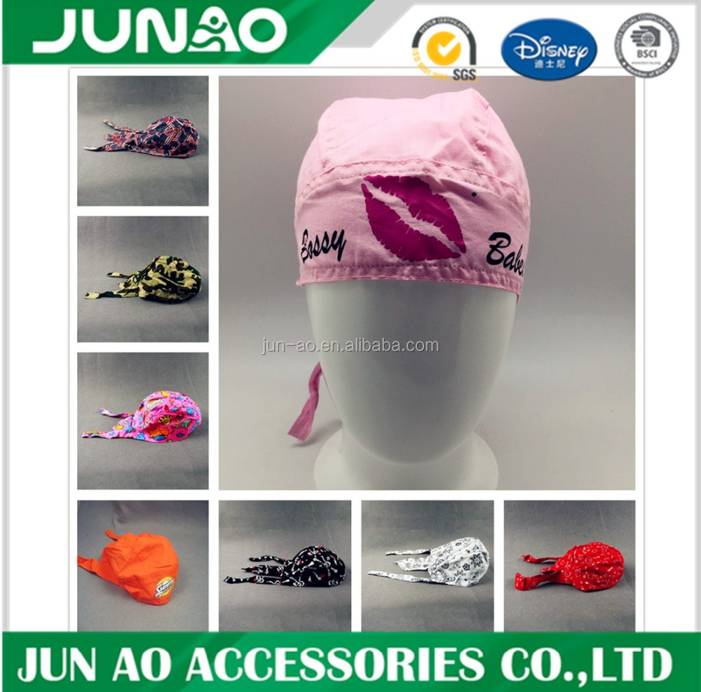 wholesale cool skull custmozied bandana cap /biker head wear