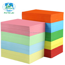 Cheap 80g A4 Pastel Colored Copy Paper with High Quality