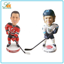 Hot sell popular cheap ice hockey sport player bobble head