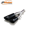 Stainless steel motorcycles muffler double exhaust outlet