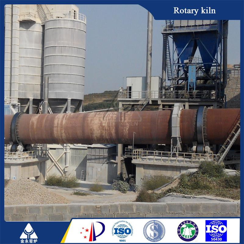 Environment friendly coal burning lime rotating kiln by Linyi Jinyong Kiln Co., Ltd