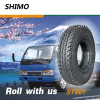 China shimo truck tire used with inner tube