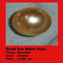 small sea water pearl