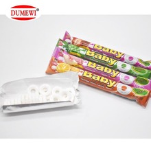 Mix Fruit Flavor Mint Circle Roll Press Candy