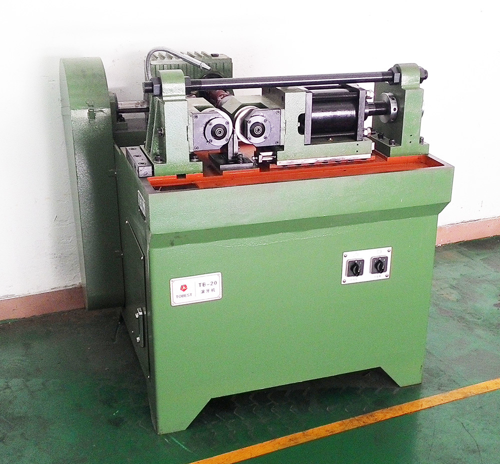 TOBEST cam type thread rolling machine bolt and nut making machine