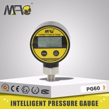 Axial direction mounting High precision Water, Oil, Gas Digital Pressure Gauge