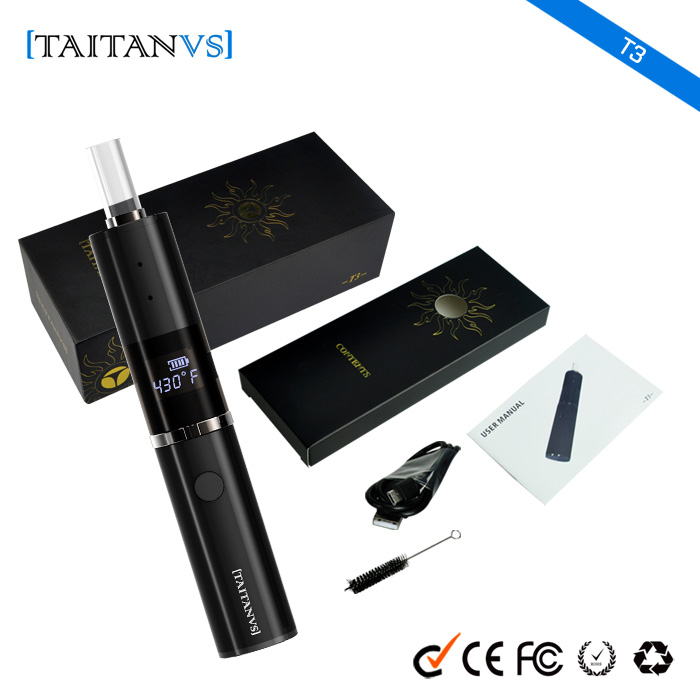 Online Shopping India Adjustable Voltage 1200mAh Rechargable Battery Titan 2 dry herb vaporizer
