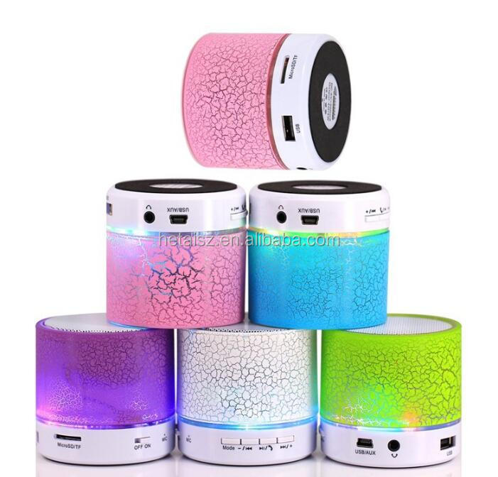 LED A9 Portable Mini Bluetooth Speakers Wireless USB Player Speaker With TF USB FM Blutooth Music For Car Mobile Phone iPhone 6