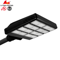 Slip Fitter & Arm Bracket Mounted LED 400 Watt Shoe Box Light Type II V Lighting Curve LED Area Parking Lot Light Fixture