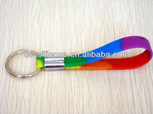 Promotional Glow in the Dark Silicone Keychain Vners