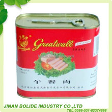 High quality and delicious canned luncheon meat