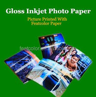 160g/220g/260g Double-side High Glossy Photo Paper