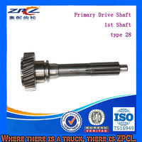 Various Durable Transmission Steel Primary Drive Shaft & First Shaft
