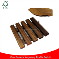 2016 New Custom Mini Carbon Burning Vintage Wooden Pallet