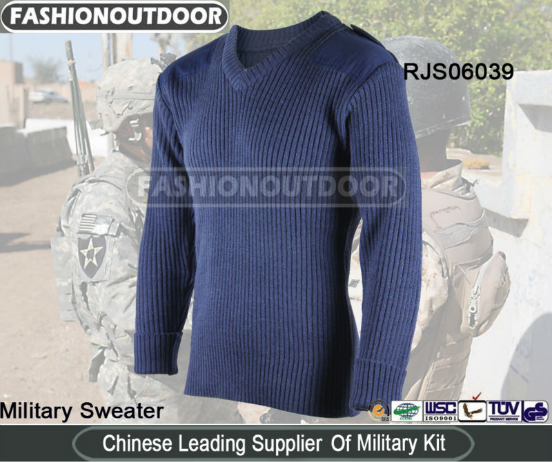 AKMAX Navy Blue Pure Wool Sweater/Pullover Design from fashionoutdoor